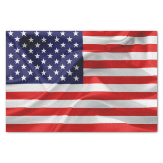 The Flag of the United States of America Tissue Paper