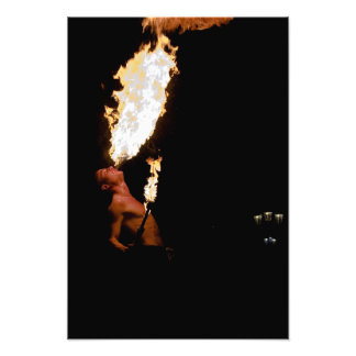 The Flamethrower Photo Print