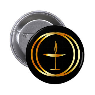 The Flaming Chalice 2 Inch Round Button