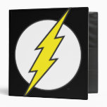 The Flash Lightning Bolt Vinyl Binder