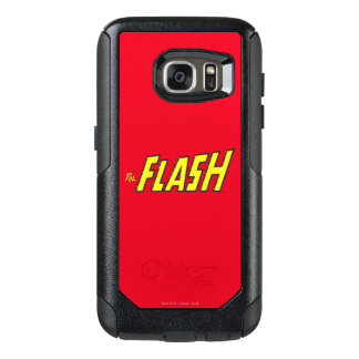 The Flash Logo Yellow OtterBox Samsung Galaxy S7 Case
