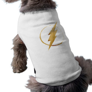 The Flash | Yellow Chest Emblem Dog Clothes