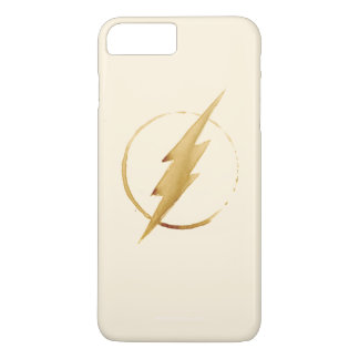 The Flash   Yellow Chest Emblem iPhone 8 Plus/7 Plus Case