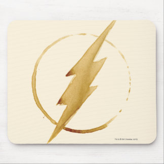 The Flash | Yellow Chest Emblem Mouse Pad