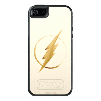The Flash | Yellow Chest Emblem OtterBox iPhone 5/5s/SE Case