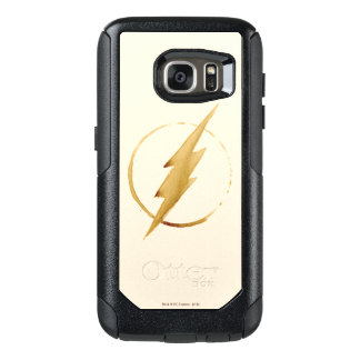The Flash | Yellow Chest Emblem OtterBox Samsung Galaxy S7 Case