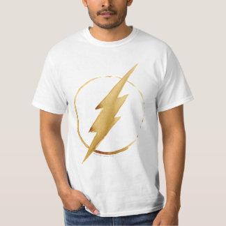 The Flash | Yellow Chest Emblem T-Shirt