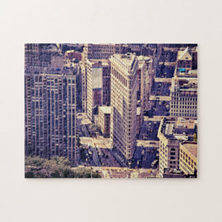 The Flatiron Building - New York City Jigsaw Puzzle
