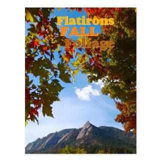 The Flatirons ~ Boulder Colorado Postcard