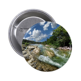 The Flats of Barton Creek in Austin, Texas 2 Inch Round Button