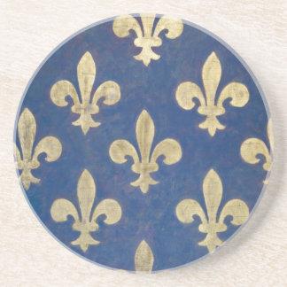 The fleur-de-lis or fleur-de-lys coaster