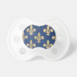 The fleur-de-lis or fleur-de-lys pacifier