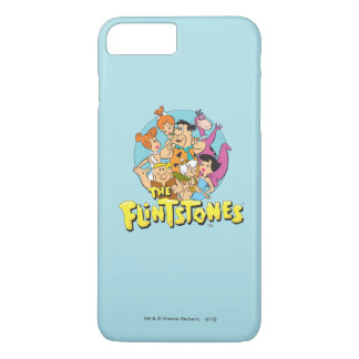 The Flintstones and Rubbles Family Graphic iPhone 7 Plus Case