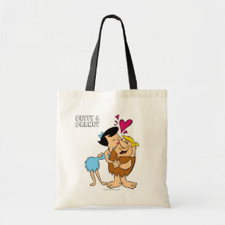 The Flintstones | Betty Kissing Barney Tote Bag
