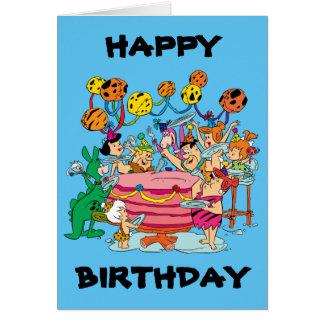 The Flintstones | Birthday Party Card