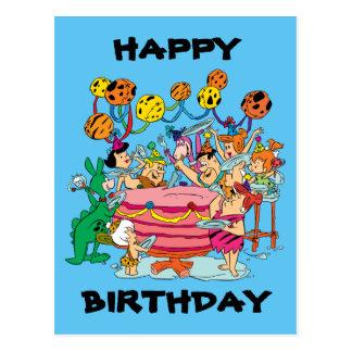 The Flintstones | Birthday Party Postcard