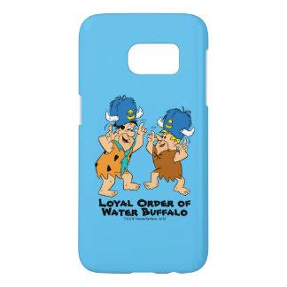 The Flintstones | Fred & Barney Water Buffaloes Samsung Galaxy S7 Case