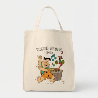The Flintstones | Fred Flintstone Dancing Tote Bag