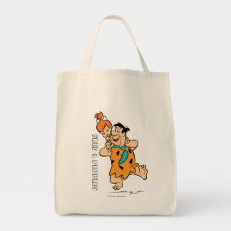 The Flintstones | Fred & Pebbles Flintstone Tote Bag