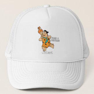 The Flintstones | Fred & Pebbles Flintstone Trucker Hat