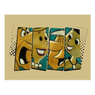 The Flintstones | Retro Comic Character Panels Postcard