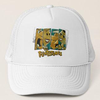 The Flintstones | Retro Comic Character Panels Trucker Hat