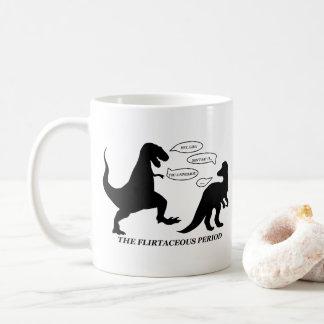 The Flirtaceous Period Dinosaur Pun Mug