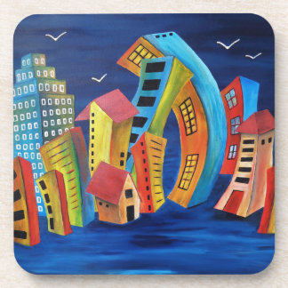 The Floating City Beverage Coasters