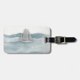 The Floating Ship Bag Tag