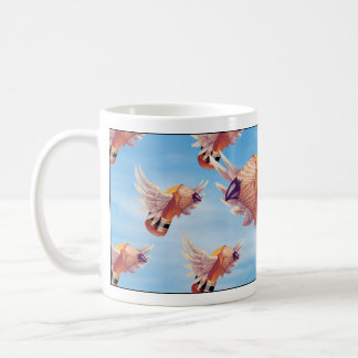 The Flock o' Stubbies Ceramic Mug