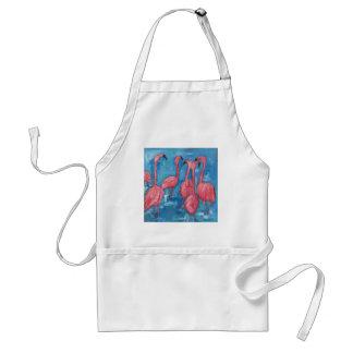 The flock standard apron