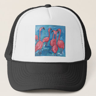 The flock trucker hat
