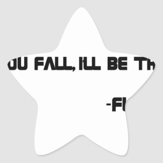 THE Floor Star Sticker