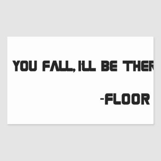 THE Floor Sticker