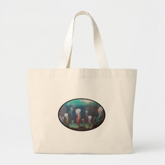 The Flow of Things Large Tote Bag