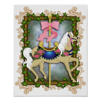 The Flower Carousel Print