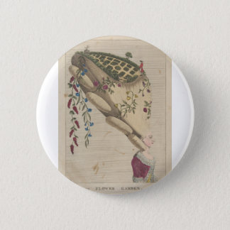 The Flower Garden - Matthew Darly 2 Inch Round Button