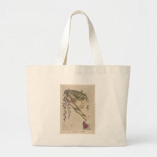 The Flower Garden - Matthew Darly Large Tote Bag