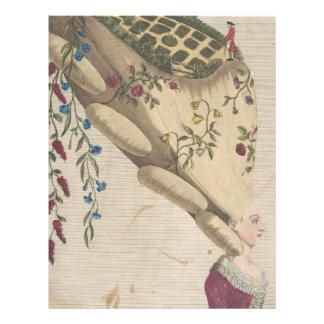 The Flower Garden - Matthew Darly Letterhead