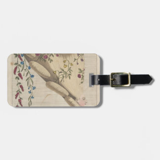 The Flower Garden - Matthew Darly Luggage Tag