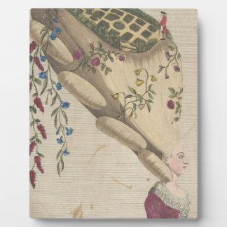 The Flower Garden - Matthew Darly Plaque