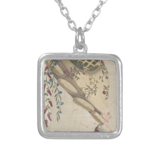 The Flower Garden - Matthew Darly Silver Plated Necklace