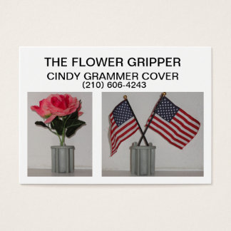 The Flower Gripper Business Card