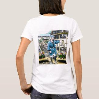 The Flower Merchant in Old Japan Vintage T-Shirt
