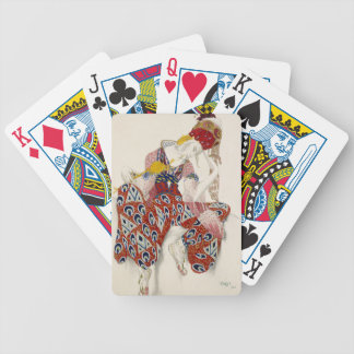 The Flower of Immortality - Dance Bicycle Playing Cards