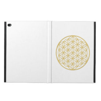 The flower of the life - gold - Ipad covering Powis iPad Air 2 Case