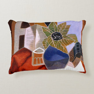 The Flower on the Table Decorative Pillow