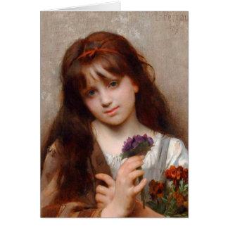 The Flower Vendor Card