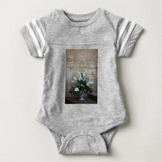 The flowers baby bodysuit