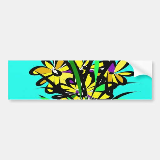 The Flowers. Bumper Stickers